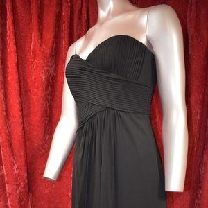 BCBGMaxAzria Strapless Little Black Dress